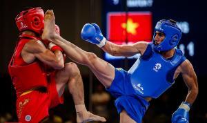 نایب قهرمانی ووشو کار هرمزگانی در مسابقات جنگجویان کشور