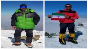 فتح قله لنین توسط ۲ کوهنورد خراسان شمالی