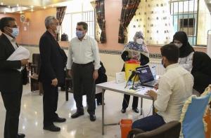 ظرفیت تزریق ۸۰۰۰ دُز واکسن کرونا در خراسان جنوبی وجود دارد