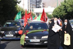 اعلام مسیرهای کاروان شادی پیمایی غدیر در شیراز