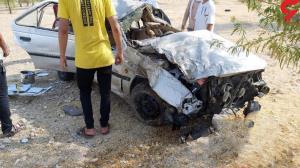 ۳ زخمی حاصل تصادف خودرو پژو در دهلران