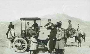 ورود اولین اتومبیل به شیراز