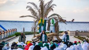 بازسازی واقعه غدیر در همدان