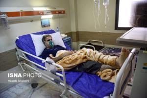 بستری شدن ۵۸ بیمار کرونایی در تنها بیمارستان نوشهر