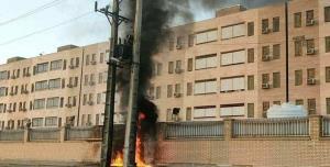 علت آتشسوزی ترانس برق خوابگاه دانشجویان آبادان چه بود؟