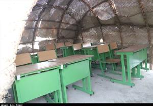 جولان مدارس کپری در استان هرمزگان