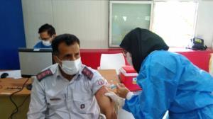 واکسیناسیون آتش نشانان تهرانی آغاز شد