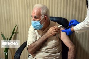 ۸۰ درصد افراد بالای ۶۰ سال گالیکش واکسن کرونا دریافت کردند