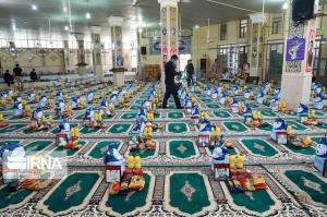 سپاه نینوا ۳۹۰ هزار بسته معیشتی در گلستان توزیع کرد