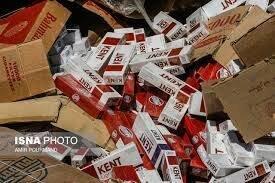 کشف سیگار خارجی قاچاق در بناب