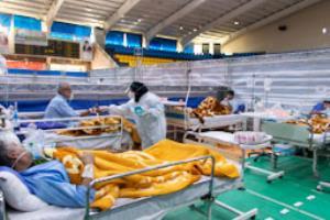 درمان ۲۰۰۰ بیمار کرونایی در بیمارستان پشتیبان کرونا در شیراز