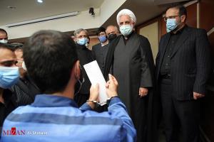 عکس/ جلسه ویژه پروندههای کثیرالشاکی با حضور رئیس قوه قضاییه