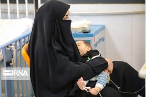 عکس/ پیک پنجم کرونا در بیمارستان های اصفهان و اهواز و گنبد کاووس