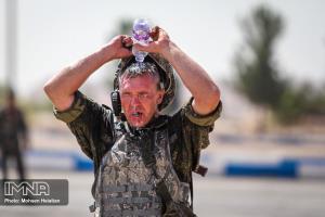 عکس/ حال و هوای ارتشی های جهان در مسابقات نظامی اصفهان