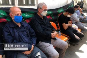 مراسم روضه هفتمین روز شهادت سید الشهدا در خانه کارگر