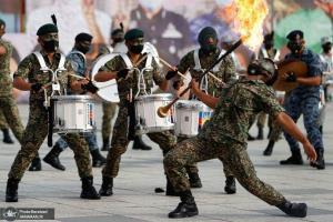 سربازان مالزیایی در جشن های روز ملی این کشور