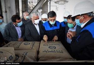 افتتاح سومین خط تولید کارخانه صنعتی دوده توسط فتاح