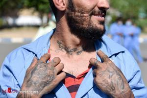 عکس های برگزیده؛ ژست متفاوت سارق در طرح اقتدار پلیس