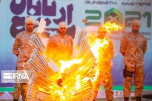 عکس/ مراسم پایانی «اربابان سلاح»؛ ایران مقام اول در بین ارتش های جهان