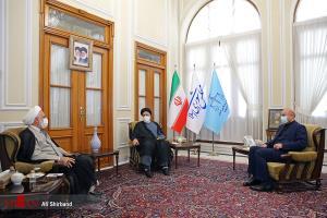 عکس/ جلسه سران قوا به میزبانی مجلس شورای اسلامی