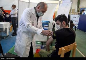 تزریق واکسن کرونا در طرح شهید سلیمانی
