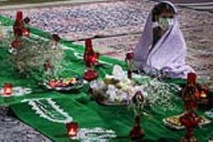 عکس/ مراسم سوگواری شهادت حضرت رقیه(س)