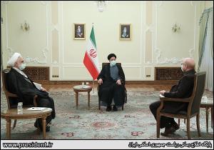 عکس/ نشست سران قوا به میزبانی رئیس جمهور