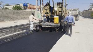 عملیات اجرایی آسفالت خیابانهای دره شهر آغاز شد