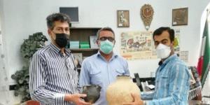 کوزههای ۳۰۰۰ ساله به میراث فرهنگی بوکان اهدا شدند