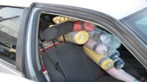 ۴ خودروی حامل کالای قاچاق در دیلم توقیف شد