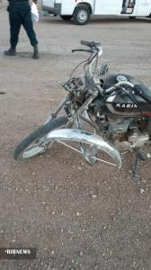 یک کشته در اثر واژگونی موتورسیکلت محور عشق آباد_بردسکن
