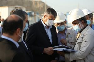 بازدید رئیس سازمان انرژی اتمی ایران از نیروگاه اتمی بوشهر