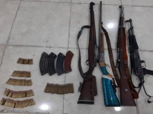 باند بزرگ قاچاق سلاح و مهمات در مهاباد منهدم شد