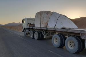 تردد شبانه کامیون و تریلی در جادههای طبس ممنوع شد