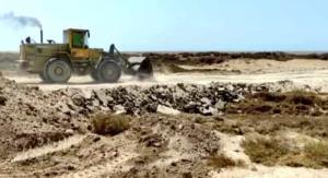 اراضی ملی خور «چورشلی» گناوه از دست متصرفان خارج شد