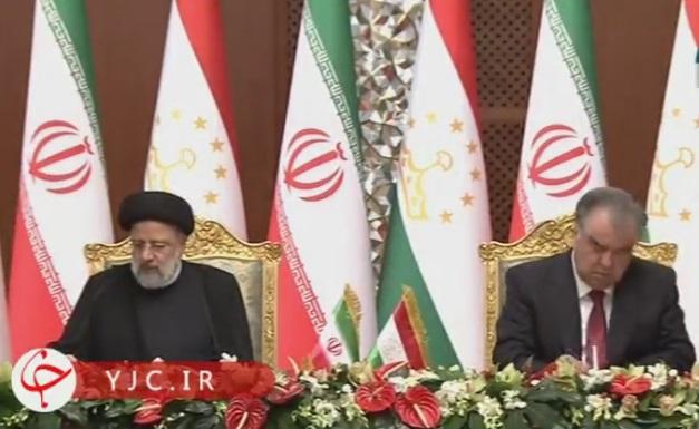 امضاي ۸ سند همکاري در بخشهاي مختلف ميان ايران و تاجيکستان