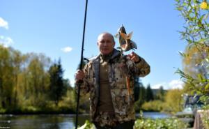 عکس/ ماهیگیری ولادیمیر پوتین در تعطیلات