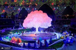 مراسم افتتاحیه نمایشگاه دبی 2020