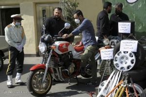 عکس/ موتور سنگین کشف شده از اوباش پایتخت