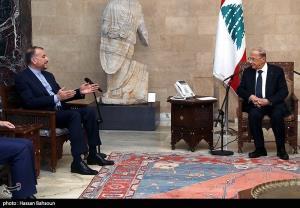 عکس/ دیدارهای وزیر امور خارجه ایران در لبنان