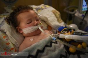 عکس/ بیمارستان کودکان کرونایی در آمریکا