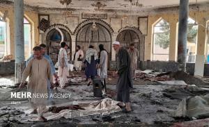 عکس/ حمله انتحاری داعش به مسجد شیعیانِ افغانستان