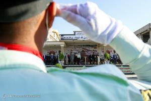عکس/ مراسم صبحگاه مشترک نیروهای انتظامی در شیراز
