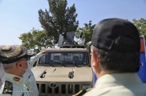 عکس/ مراسم الحاق تجهیزات جدید به نیروی انتظامی