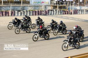 برگزاری مسابقات موتور سواری سرعت به مناسبت هفته ناجا