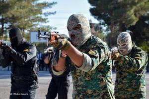 مانور اقتدار هفته نیروی انتظامی در کرمان