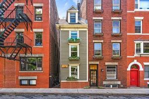 معماری جالب باریکترین خانه در بوستون