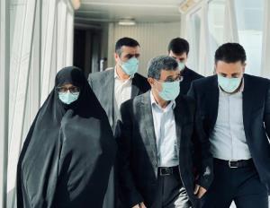 عکس/ سفر احمدی نژاد به دبی و بازدید از اکسپو ۲۰۲۰