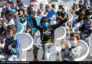 عکس/ شور و شوق کودکان در ویژه برنامههای هفته ملی کودک
