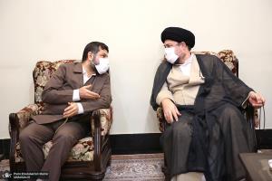 دیدار رییس سازمان ملی استاندارد با سید حسن خمینی